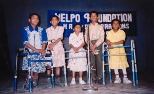 Disabled Children - Singing