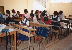 Girl Child Education - Classroom